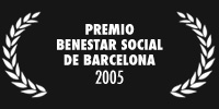 Premio Benestar Social de Barcelona 2005